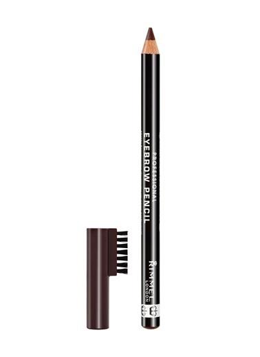Rimmel London Professional  Eyebrow Pencil -Dark Brown-Rimmel London